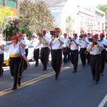 2010 photo gallery - The Red Caps Marching Band during the Firemans Parade