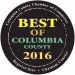 "More than 20 Chatham Businesses Earn ""Best of Columbia County"" Awards"