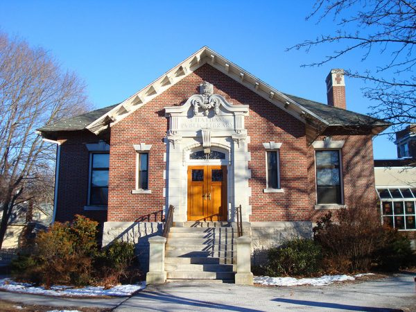 Chatham Public Library - photo by Suzanne Trevellyan
