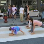 2015 Photo Gallery - There was even yoga happening on Main Street!