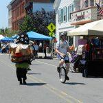 2015 Photo Gallery - The Big Head Parade, Main Street Chatham, NY