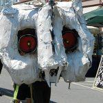 2015 Photo Gallery - Big Head Parade 2015, Main Street, Chatham, NY