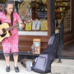 2012 Photo Gallery - Abbey Lappen performed her wonderful acoustic music during June First Friday.