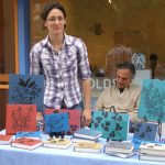 2012 Photo Gallery - Small Oak Press and Bindery displayed their handmade sketchbooks and journals.