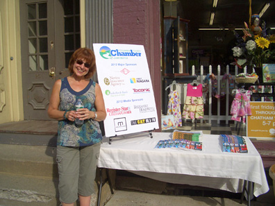 2012 Photo Gallery - Carol Patterson of the Columbia County Chamber
