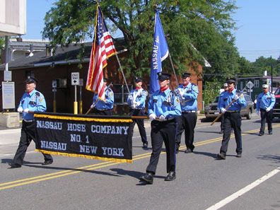 2012 Photo Gallery - Nassau Hose Company in the 2012 Firefighters' Parade in Chatham, NY