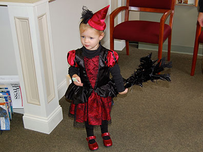 2012 Photo Gallery - Trick-or-treating on Halloween in the village of Chatham, NY