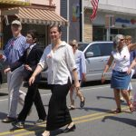 2012 Photo Gallery - Chatham Mayor Tom Curran marches in the 2012 Memorial Day Parade