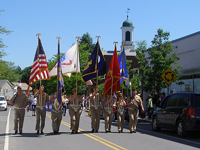 2013 Photo Gallery - Memorial Day Parade in the village of Chatham, NY 2013