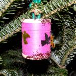 2010 photo gallery - CABA sponsored a recycled ornament display. All submissions were hung on a tree in the National Union Bank of Kinderhook lobby.