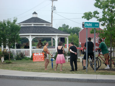 2012 Photo Gallery - The Gazebo during Chatham Summerfest 2012
