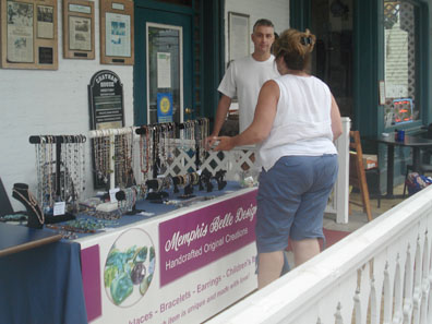 2012 Photo Gallery - Jewelry for sale at Chatham Summerfest 2012