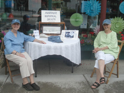 2012 Photo Gallery - Austerlitz Historical Society booth at Chatham Summerfest 2012