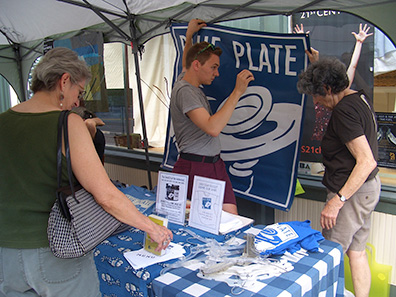 Blue Plate at Chatham NY Summerfest 2013