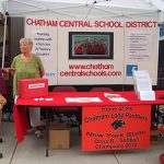 Chatham Central School District booth at Chatham NY Summerfest 2013