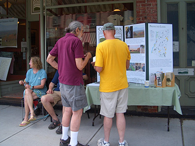 Columbia Land Conservancy at Chatham NY Summerfest 2013