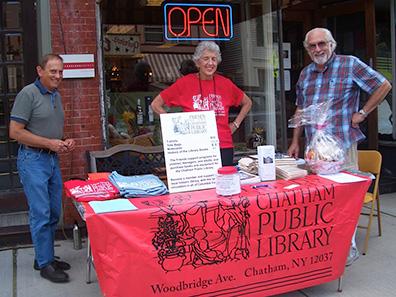 Chatham Public Library at Chatham NY Summerfest 2013