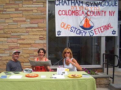 Chatham Synagogue at Chatham NY Summerfest 2013
