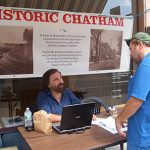 Historic Chatham Booth at Chatham NY Summerfest 2013