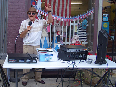 Karaoke at Chatham NY Summerfest 2013