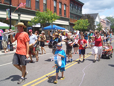 Kids Parade at Chatham NY Summerfest 2013