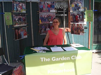 Kinderhook Garden Club at Chatham NY Summerfest 2013