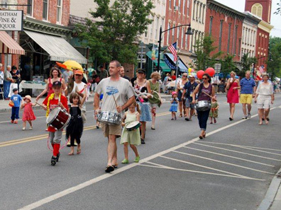2012 Photo Gallery - Parade at the Chatham Summerfest 2012