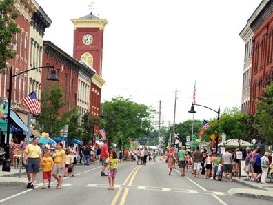 2012 Photo Gallery - Main Street during Chatham Summerfest 2012