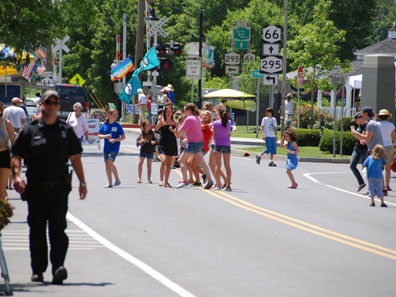 2011 photo gallery - Main Street was closed for the Chatham Summerfest 2011