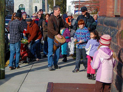 2012 Photo Gallery - Winterfest in the village of Chatham, NY