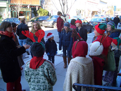 2011 photo gallery - Caroler's at Chatham's 2011 Winterfest