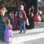 Trick-or-treating on Main Street in Chatham, New York 2017