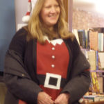 Cathi Bruneau is one of Santa's Helpers