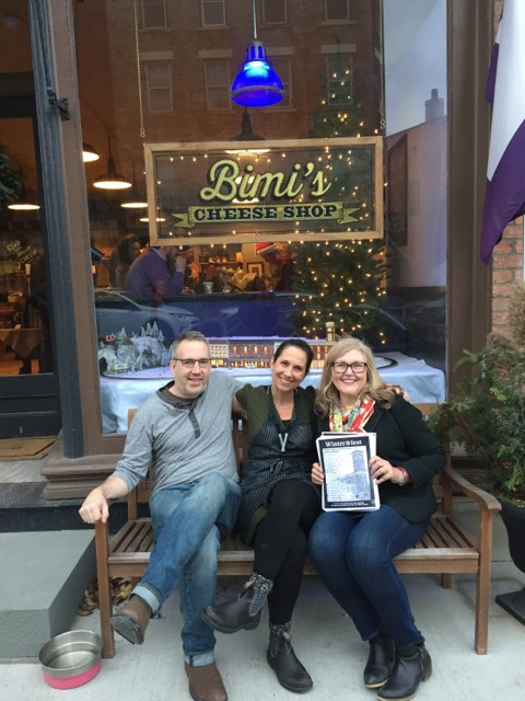 Winterfest Window Winner: Bimi's Cheese Shop
