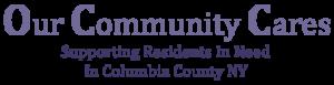 Our Community Cares logo